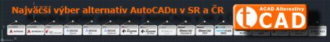 Najväčší výber alternatív AutoCADu