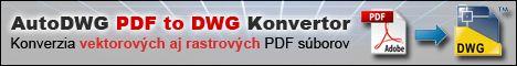PDF to DWG - Konverzia PDF do DWG