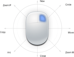 zwcad smart mouse