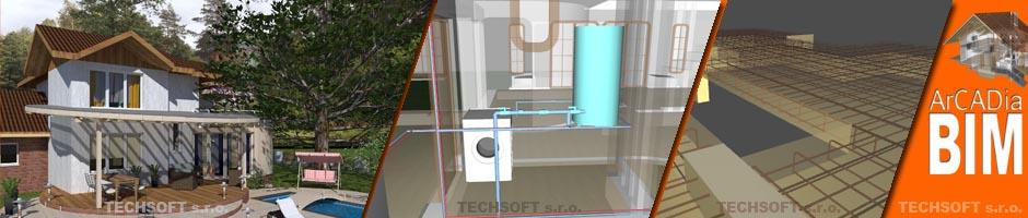 ArCADia BIM CAD - Komplexní BIM řešení pro architekturu i profese (Elektro, Vytápění...)