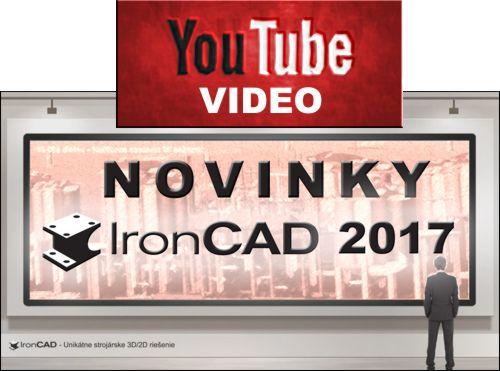 IronCAD 2017 Novinky
