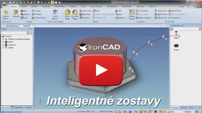 IRONCAD - Inteligentné zostavy