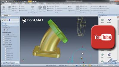 IronCAD - Ako na importované diely